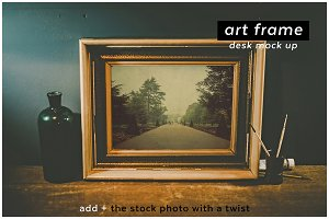add + artframe 1 desk mockup