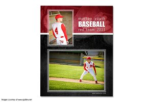 Baseball Memory Mate Template - MM2