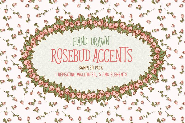 Rosebud accent - sampler pack