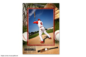 Baseball Memory Mate Template - Ind1