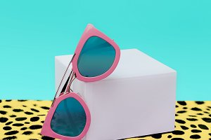 Pink Fashion Sunglasses