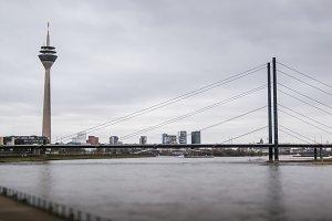 The Rhine Tower. Düsseldorf
