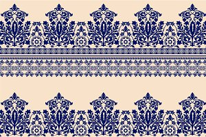 2 Damask Seamless Patterns