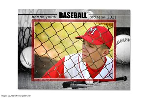 Baseball Memory Mate Template - T2