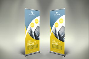 Business Roll-Up Banner - SB