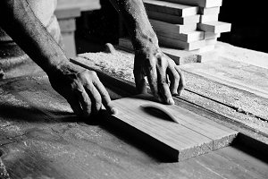 hands of the craftsman