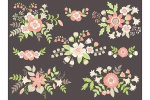 Pastel Bouquets