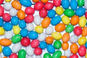 background of colorful candy.