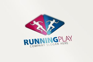 Running Play Logo