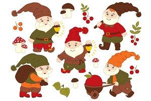 Gnomes Set