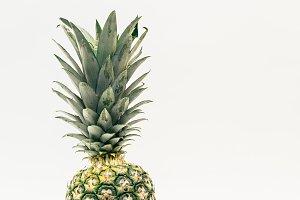 Pineapple in Portrait Mode