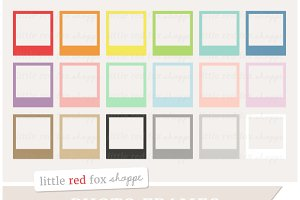 Vintage Photo Frame Clipart