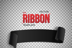 Vector Ribbon Banner