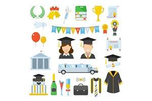 Graduation Day Icons