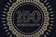 150 Retro Sunbursts