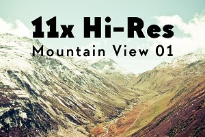11x Hi-Res The Alps Mountain View I