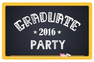Graduation 2016 emblem