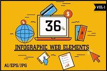 Infographic Web Elements Vol - 1