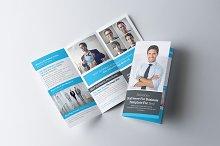 Business Tri-Fold Brochure/Report A4