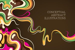 Conceptual abstract illustrations.