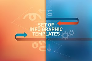Info graphic templates.