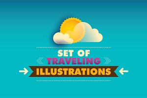 Traveling illustrations.