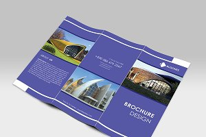 Simple & Clean Tri-fold Brochure