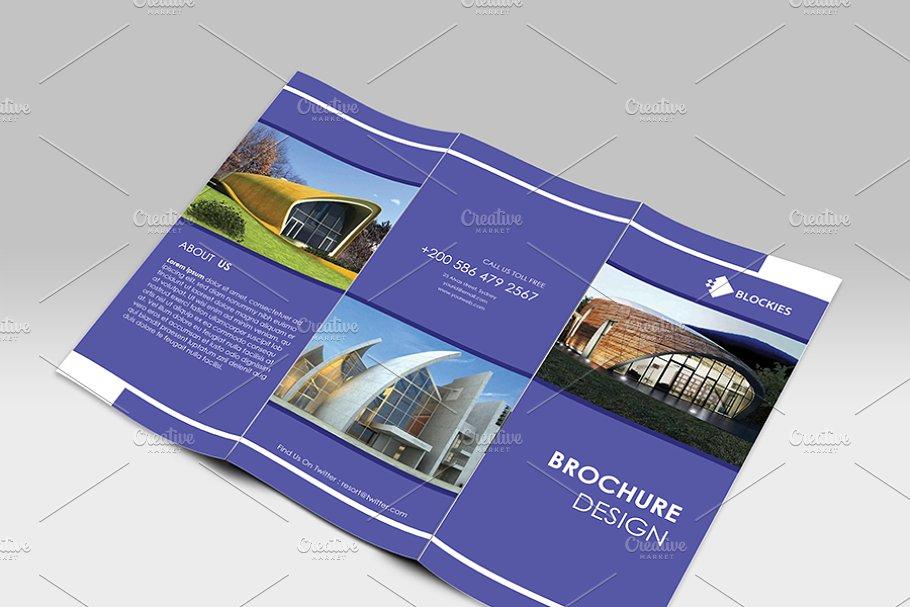 Simple & Clean Tri-fold Brochure