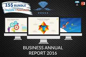 Business Annual Report 2016 Template
