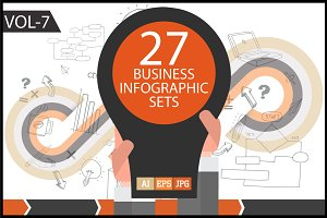 Business Infographic Sets Vol - 7