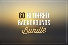 60 Blurred Backgrounds Bundle