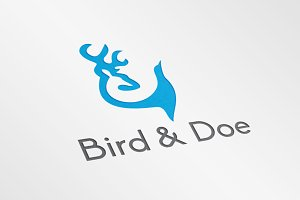 Bird & Doe – Logo Template