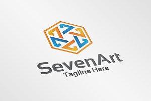 hexa seven / 7 – Logo Template