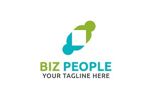 Biz People Logo Template