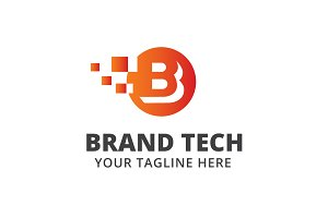 Brand Tech Logo Template