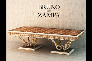 Dinner table Bruno Zampa Ginevra