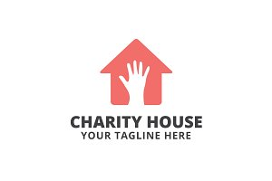 Charity House Logo Template