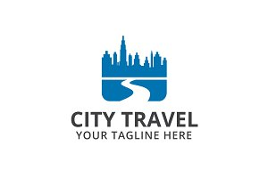 City Travel Logo Template