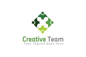Creative Team Logo Template