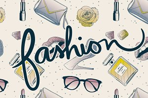 Fashion Objects pattern