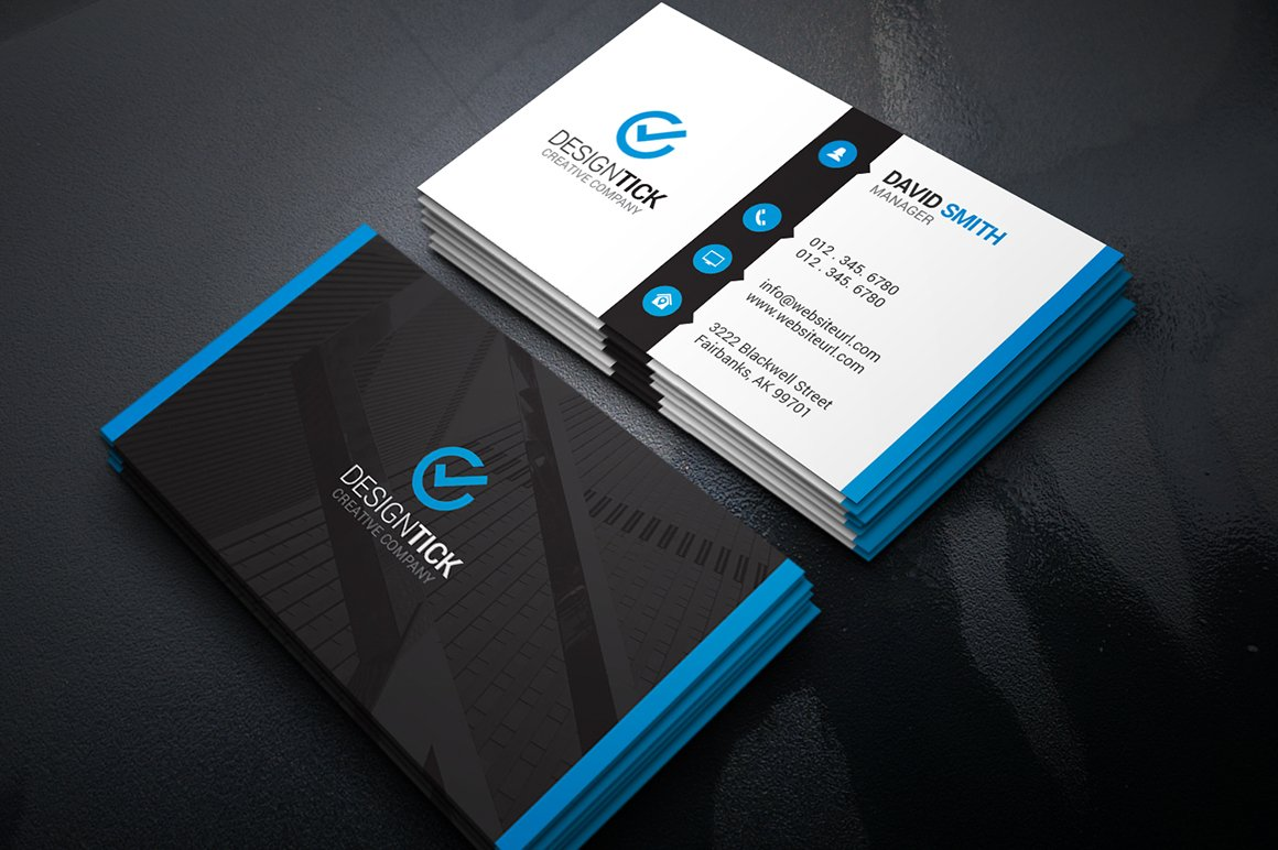 Modern Creative Business Card ~ Business Card Templates ~ Creative ...