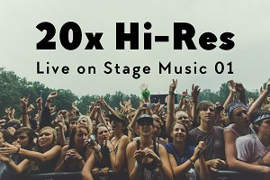 20x Hi-Res Live on Stage Music I