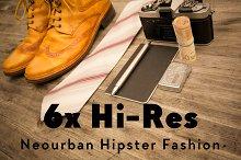 6x Hi-Res NEOURBAN HIPSTER FASHION