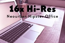 16x Hi-Res NEOURBAN HIPSTER OFFICE