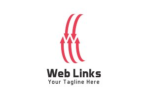 Web Links Logo Template