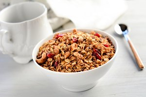Granola for healthy breakfast