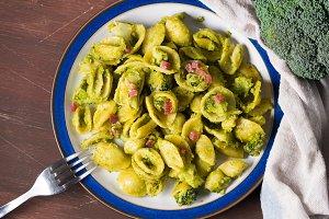 Italian pasta with broccoli