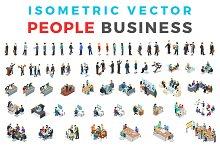 Vector Business People Isometric