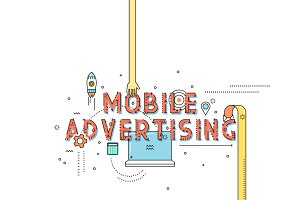 Design concept mobile advertising