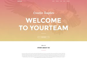YourTeam | Responsive Landing Page